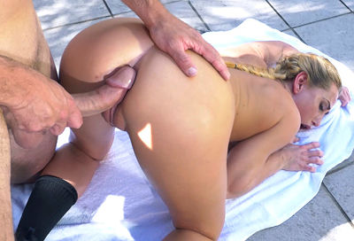 Carter Cruise plays strip horse to get fucked Bangbros