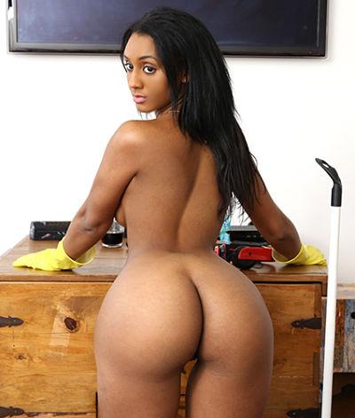 Big black asses riding dick