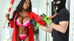Diamond Jackson Protects Her Home Bangbros Online